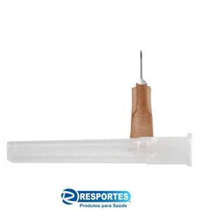 Agulha Hipodérmica 13×0,45mm – 26G Descarpack – Insulina