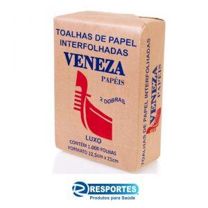 Papel Toalha Branco Luxo – Pct c/ 1000 folhas Veneza