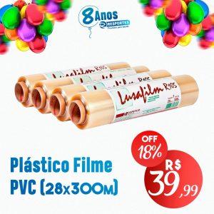 Plástico Filme Rolo 28cmx300m