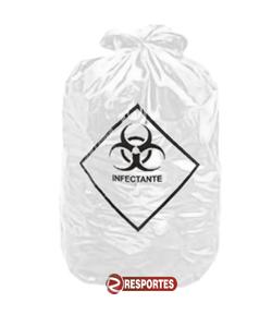 Saco de Lixo Branco Infectante – 50 Litros