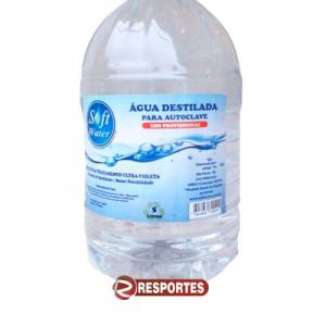 Água destilada – 5 LITROS Soft Water