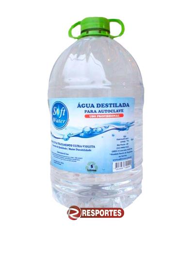Água destilada - 5 LITROS Soft Water