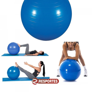 Bola Pilates 65 cm – Azul