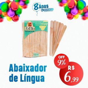 Abaixador de Língua Madeira – ESTILO (Pct c/100)