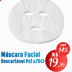 Mascara Facial Descartável Pct c/50 – NTFLEX